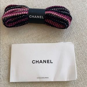 Chanel Shoelaces